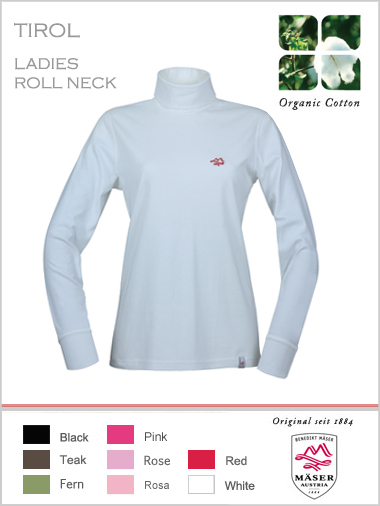 Maser Womens Tirol roll neck top (only L & XL now)