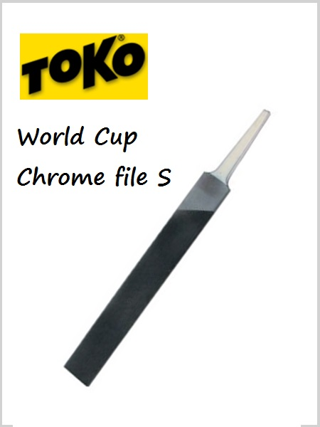 World Cup Chrome File S - 150mm