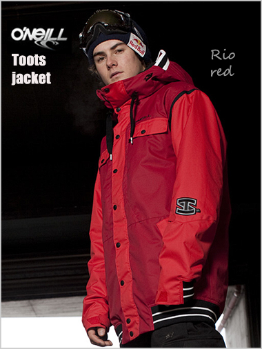 Toots Jacket - Rio red