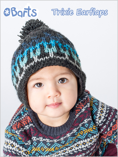 Trixy earflap hat - toddler