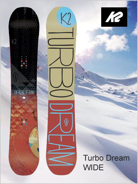 Turbo Dream Wide snowboard