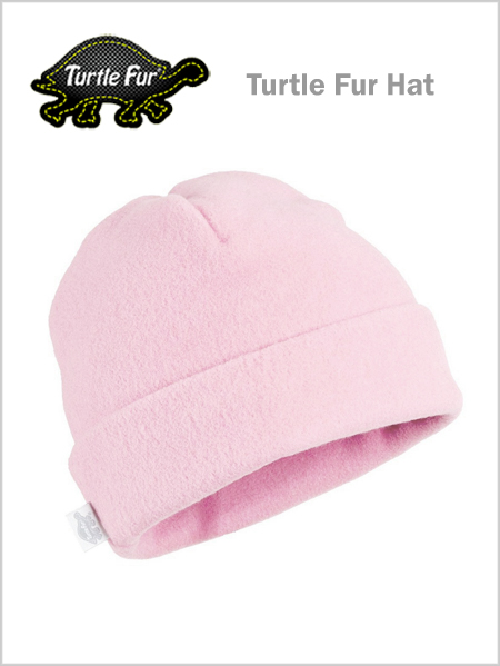 Turtle fur The Hat - Powder pink