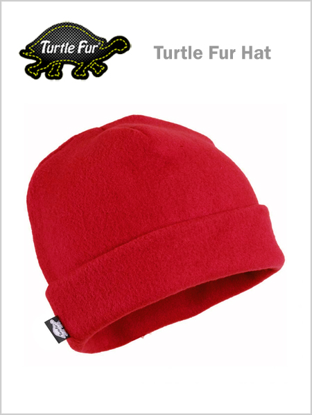 Turtle fur The Hat - red