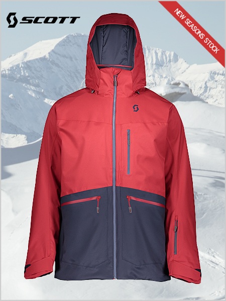 Ultimate DRX jacket - Wine red / Blue nights