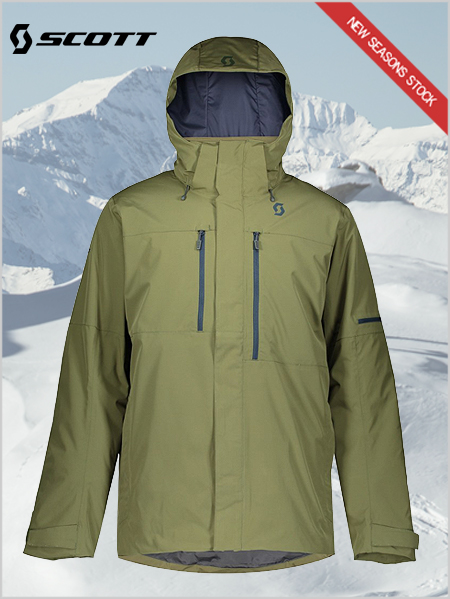 Ultimate Dryo 10 jacket - Green moss