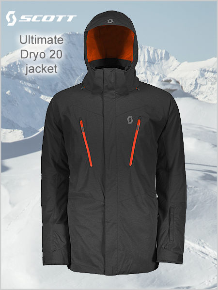 Ultimate Dryo 20 jacket - Black heather