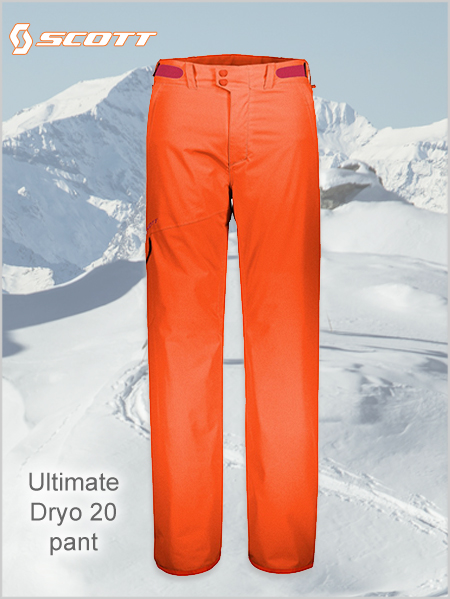 Ultimate Dryo 20 pant - Moroccan red