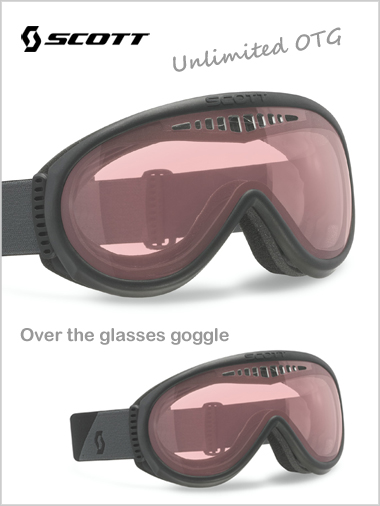 Unlimited OTG goggle - black