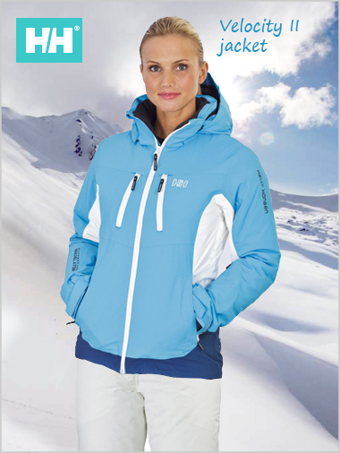 HH Velocity II jacket Women