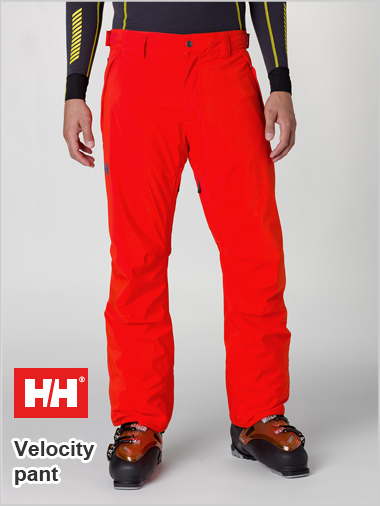 Velocity insulated pant - Sunrise orange (only L now left)