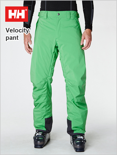 Velocity insulated pant - Paris green (only L now left)