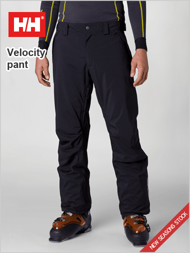 Velocity insulated pant - Black
