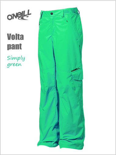Ages 12: Volta pant - Simply green