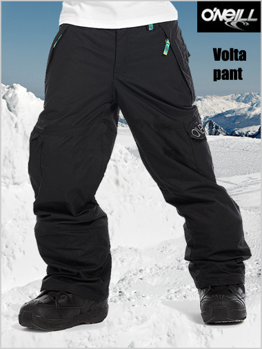 Ages 10-14: Volta pant - Black out