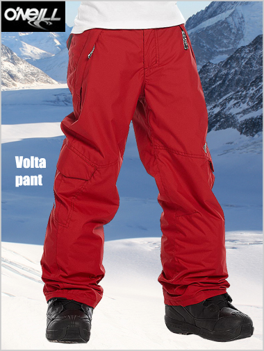Ages 12: Volta pant - Rio red