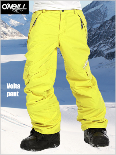 Ages 10-12: Volta pant - Blazing yellow