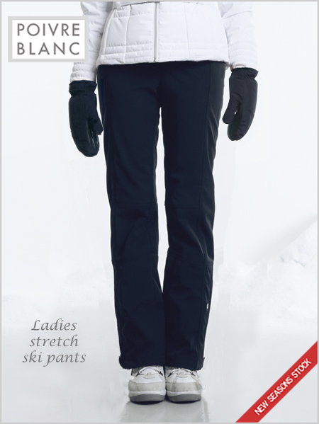 Ladies stretch ski pants (gothic blue) - only XL now left