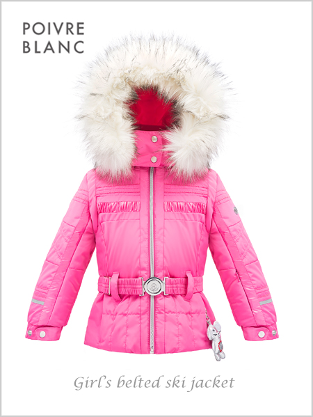 Age 4-7: girl's Chloe jacket in pink
