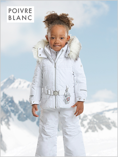 Age 5-7: girl's Chloe jacket in white