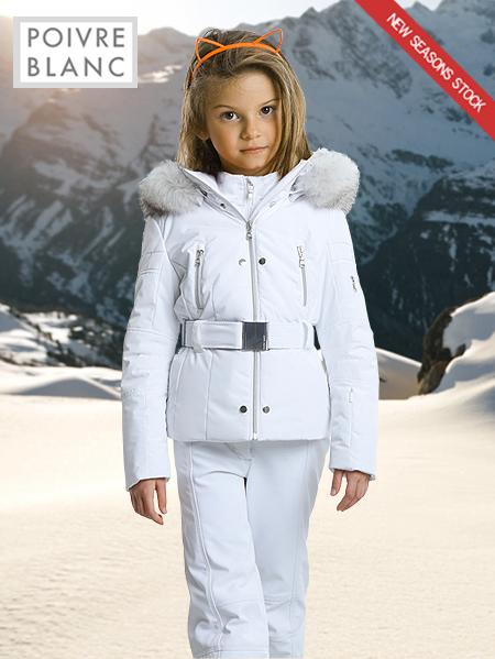 c67a4a66f Age 8 - 14: Girl's Madeline ski jacket · Poivre Blanc ...