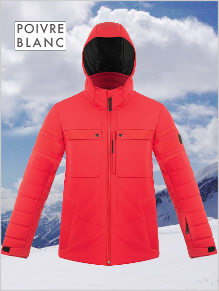 Marc stretch ski jacket - Scarlet red