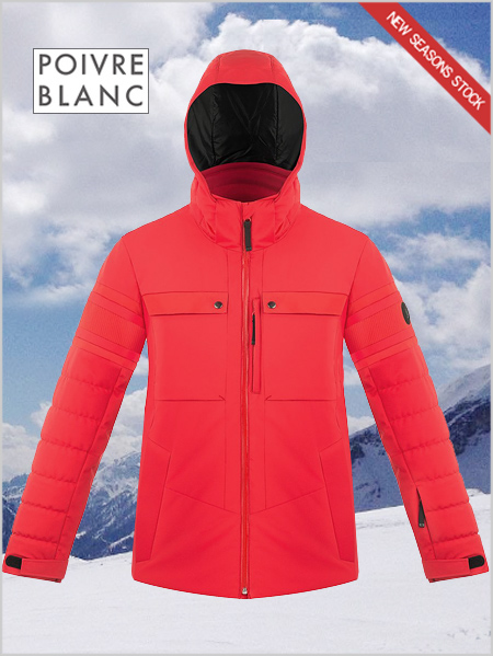 Marc stretch ski jacket - Scarlet red 2baf8519c