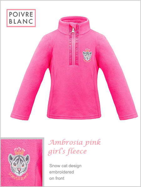 Child / Junior - Ambrosia Pink girl's fleece
