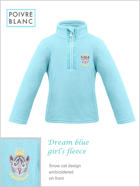 Child / Junior - Dream Blue girl's fleece