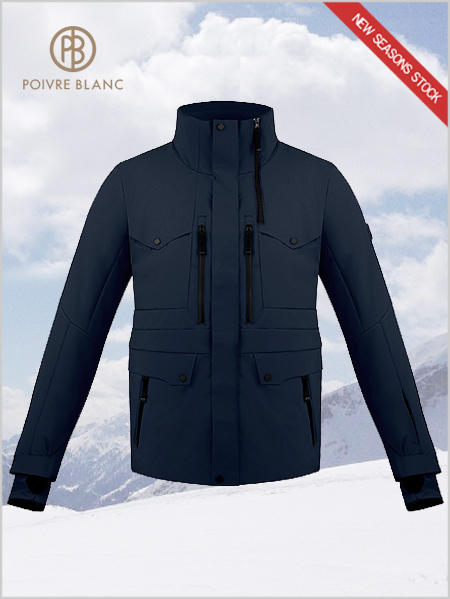 Claude stretch ski jacket - Gothic blue