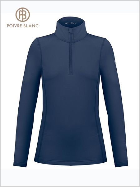 Poivre Blanc stretch ski top - Gothic Blue