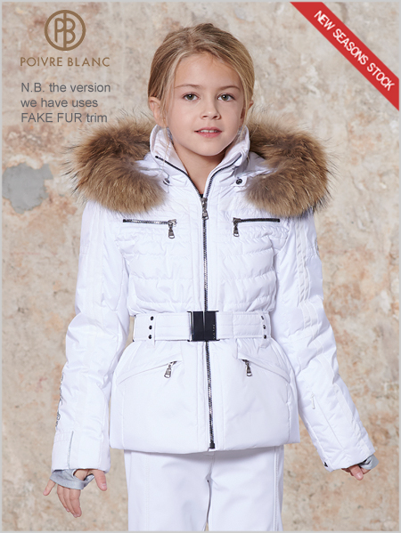 Age 8-14: Girls Clara ski jacket