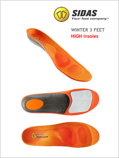 Winter 3 Feet - HIGH insoles