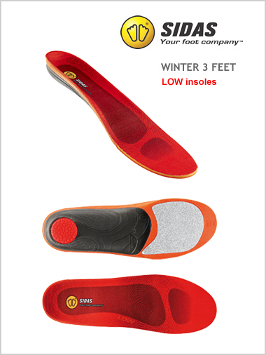 Winter 3 Feet - LOW insoles