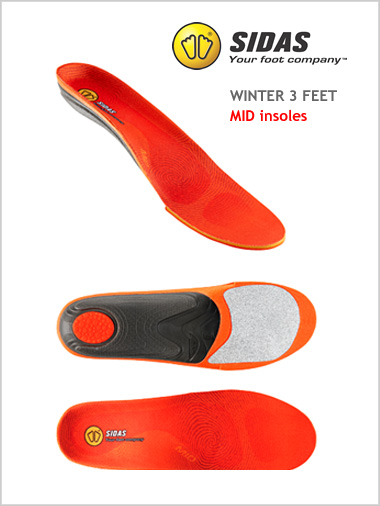 Winter 3 Feet - MID insoles