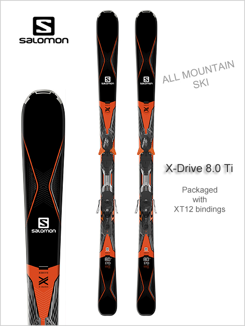 X Drive 8.0 Ti skis and XT12 binding