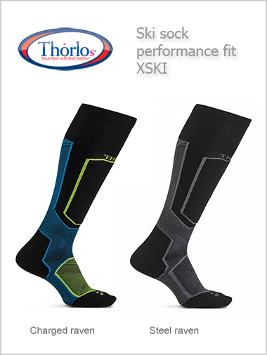 Thorlos XSKI ski sock - performance fit