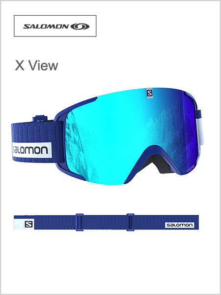 X View - sodalite blue, light blue multi-layer lens