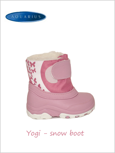 Yogi snow boot Pink - child