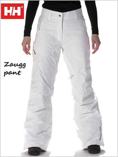 Zaugg pant - white  (only UK 14 now left)