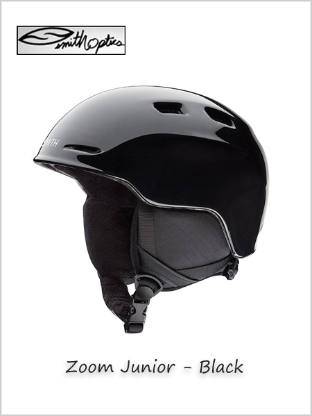 Zoom Junior helmet - Black