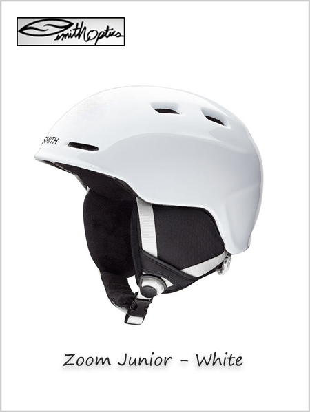 Zoom Junior helmet - White