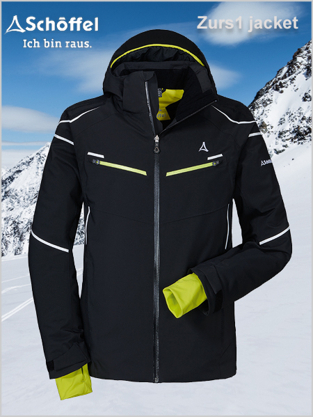 "Zurs 1 ski jacket (only 44"" now left)"