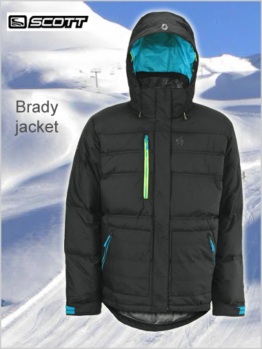 Brady jacket (duck down)