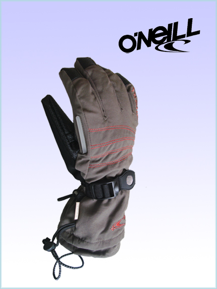 O'Neill ladies / youth snow gloves - urban brown