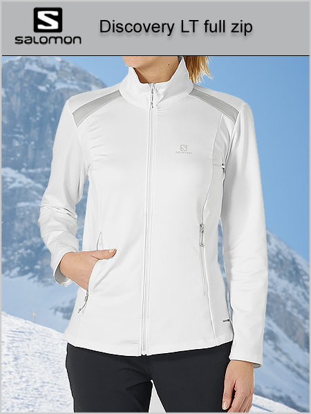 Discovery Light womens full-zip midlayer