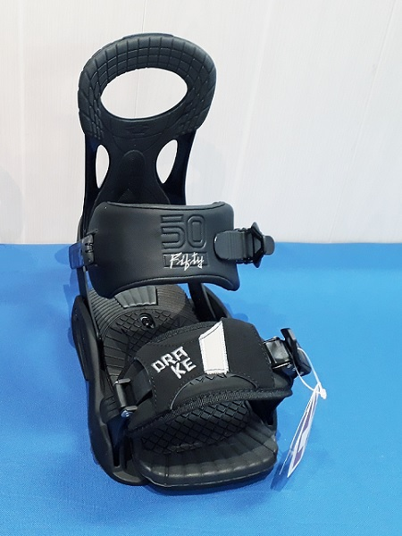Fifty matt black - men's snowboard bindings