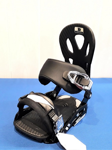 Fifty Black/silver - mens snowboard bindings