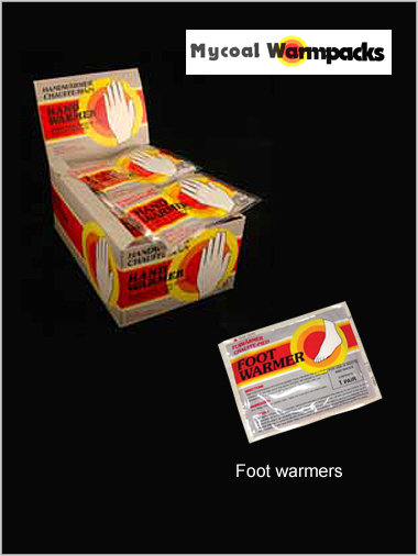 Foot Warmers x 5 packs