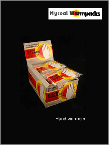 Hand Warmers Box of 40 packs