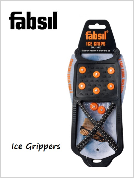 Fabsil ice grippers